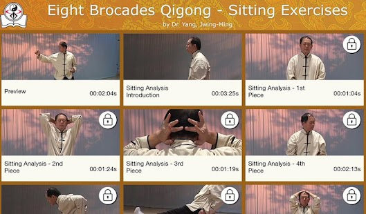 Eight Brocades Qigong Sitting- screenshot thumbnail