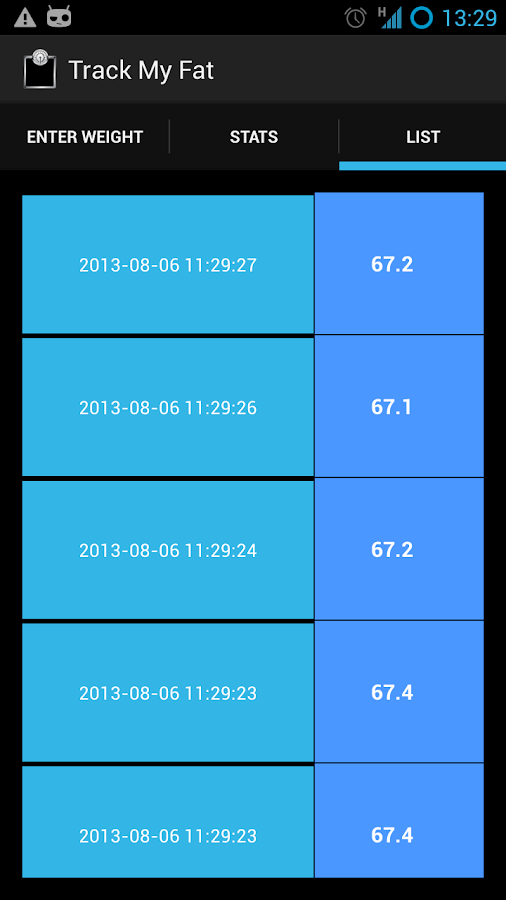 Track My Fat weight manager - Android Apps on Google Play
