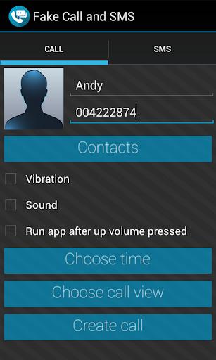 Fake Call SMS
