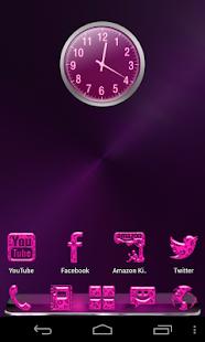 玩個人化App|GO Launcher theme Pink Leopard免費|APP試玩