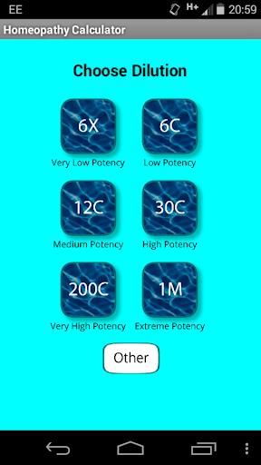 Homeopathy Calculator