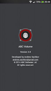 ABC Volume screenshot