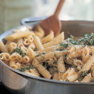 Penne with Basil and Pine Nuts