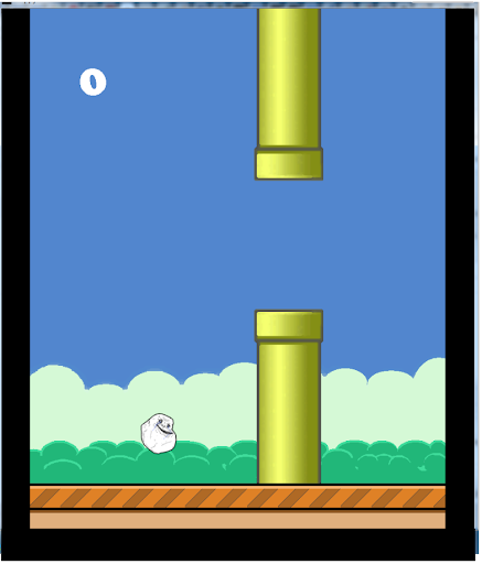 Flappy Forever Alone