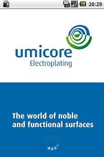Umicore Electroplating- screenshot thumbnail