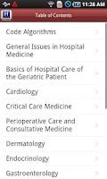 Screenshot of Tarascon Hospital Medicine