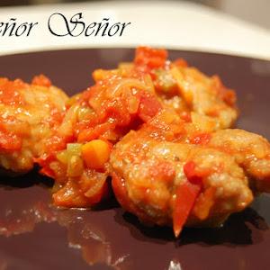 Italian Meatballs in Sauce