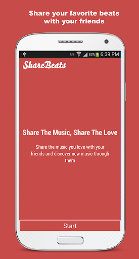 Share or Send Music: ShareBeat