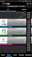 Screenshot of Canal Sur a la carta