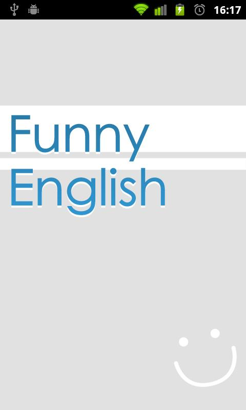 Funny English - screenshot