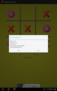 Neon Tic Tac Toe- screenshot thumbnail