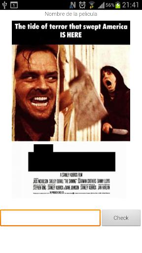 Movie Poster Quiz English