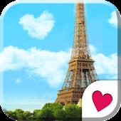 Cute wallpaper★Sky of Paris