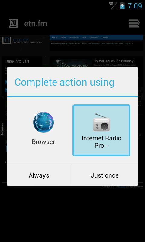 Internet Radio - L337Tech - screenshot