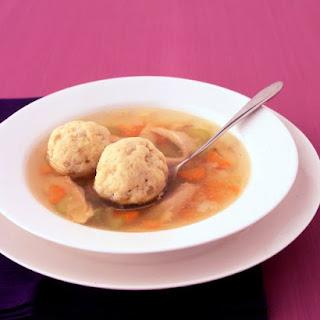 Matzo Ball Soup.