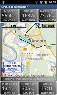 Paraglider Dashboard- screenshot thumbnail