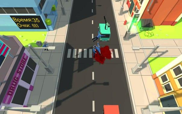 Road Cross: Bloody Hell Arcade- screenshot