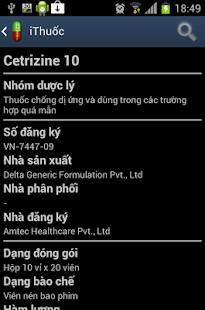 【免費健康App】Thuoc Vietnam (i Thuốc)-APP點子