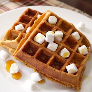 Gluten-Free Sweet Potato and Corn Waffles