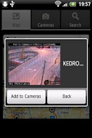 Screenshot of Australia Traffic Cameras