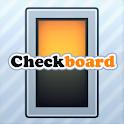 Checkboard logo