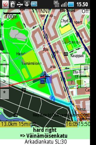 ShareNav no map