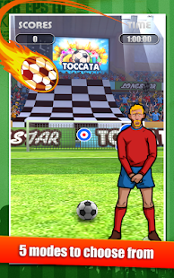 Flick-n-Score - Soccer Edition - screenshot thumbnail