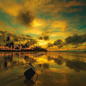 Golden Hour's Sunset by Jali Razali - Landscapes Sunsets & Sunrises (  )