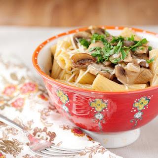 Chicken Marsala Pasta.