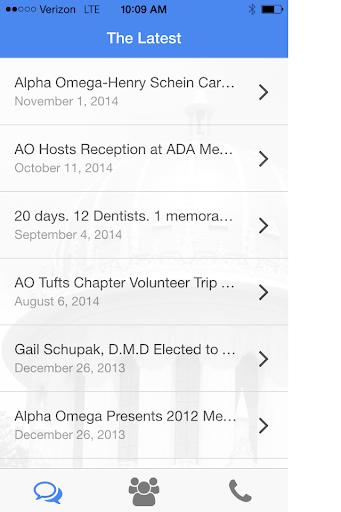 Alpha Omega Dental Fraternity