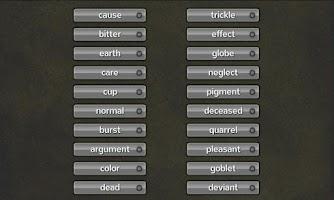 Screenshot of Word Match: Synonym & Antonym