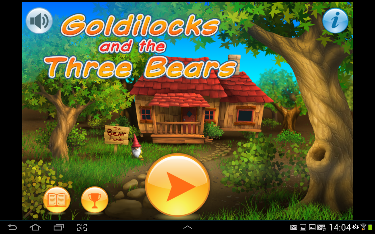 Apprendre l'Anglais:Goldilocks - screenshot