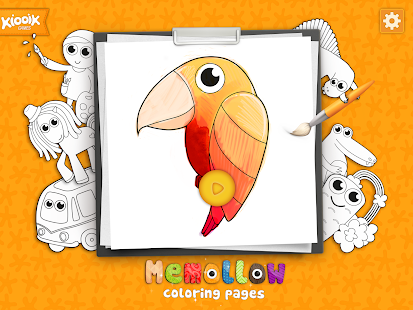 Coloring Pages Memollow- screenshot thumbnail