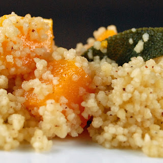 Butternut Squash, Browned Butter and Sage Couscous.