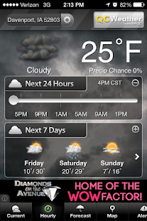 QCWeather - screenshot thumbnail