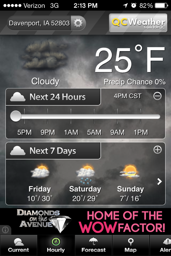 QCWeather - screenshot