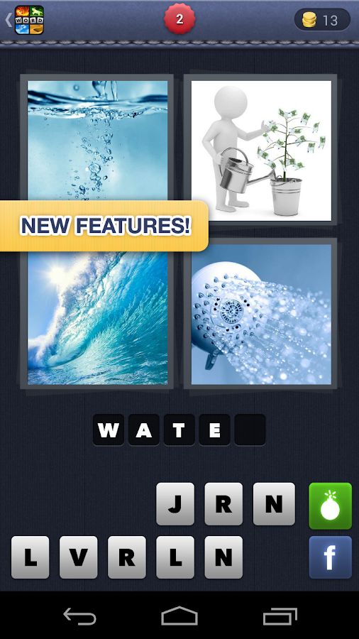 4 Pics 1 Word - screenshot