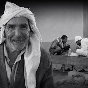 Arab man by Stojiljkovic  Zoran - People Portraits of Men ( lifestyle, travel, people, culture )