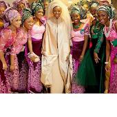 Nigerian Wedding Asoebi Styles