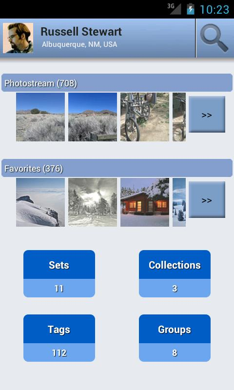 Flickr Companion Free - screenshot