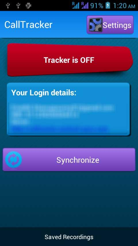 Call Tracker Lite - Spy- screenshot