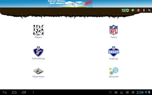 Fantasy Football 2014 Draft IS