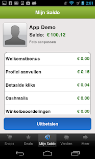 CashbackKorting - screenshot thumbnail
