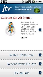 Jewelry Television - screenshot thumbnail