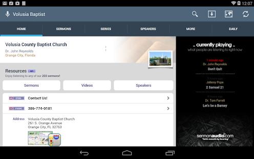 Volusia County Baptist Church - screenshot thumbnail
