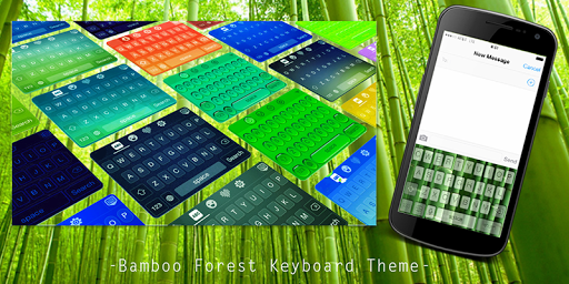 Bamboo Forest Keyboard Theme