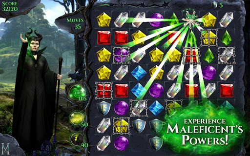 Maleficent Free Fall v1.3.0 Mod (Unlimited Lives & Magic)