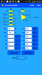Opamp Calculator - screenshot thumbnail