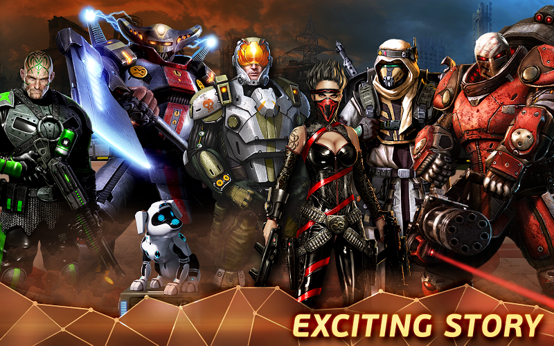 Evolution Battle for Utopia Hack Mega Mod v3.2.3 APK+DATA - Cover