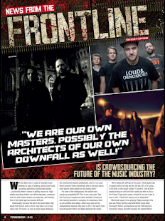 Terrorizer Magazine - screenshot thumbnail